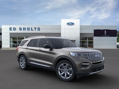New 2021 Ford Explorer Platinum SUV in Jamestown, NY