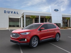 2020 Ford Edge Titanium SUV for sale in Jacksonville at Duval Ford