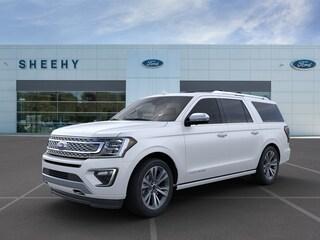 New 2020 Ford Expedition Max Platinum SUV in Ashland, VA
