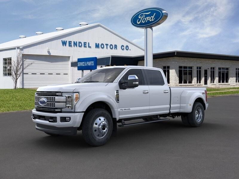 2019 Ford F-450 Platinum Truck