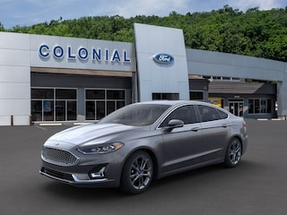 New 2020 Ford Fusion Hybrid Titanium Sedan in Danbury, CT