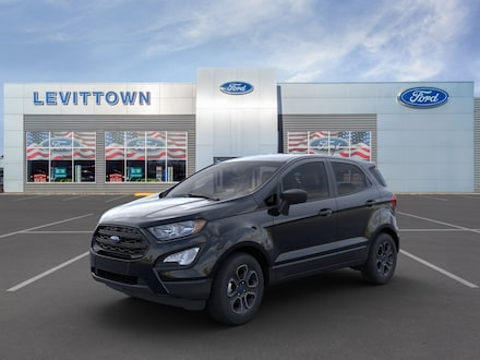 Featured New 2020 Ford EcoSport S SUV for Sale in Levittown, NY