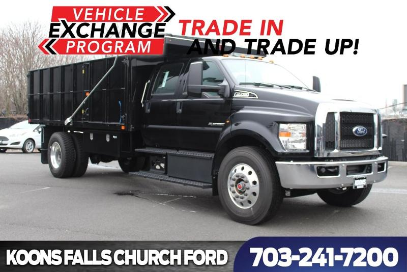 2018 Ford F-750 Diesel F-750 SD Diesel Straight Frame Truck Crew Cab