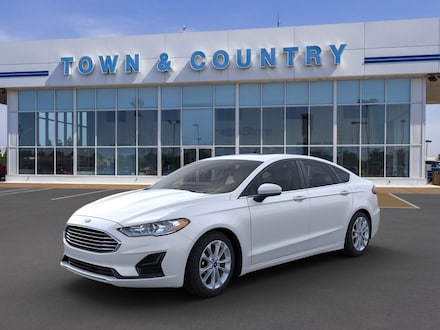Featured new 2020 Ford Fusion Hybrid SE Sedan for sale in Evansville, IN