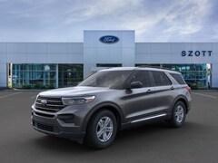 New 2020 Ford Explorer XLT SUV 1FMSK8DH2LGC26856 in Holly, MI