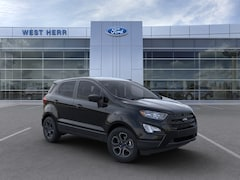 New 2020 Ford EcoSport S Crossover MAJ6S3FL9LC383243 in Rochester, New York, at West Herr Ford of Rochester