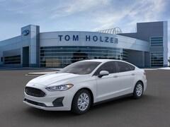 New 2020 Ford Fusion S Sedan