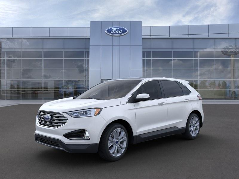 New 2020 Ford Edge Titanium Crossover in Merrillville, IN