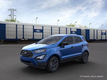 Featured new 2021 Ford EcoSport S Crossover for sale in Mexia, TX