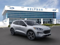 New 2021 Ford Escape SE SUV 1FMCU0G63MUA34942 for Sale in Stafford, TX at Helfman Ford