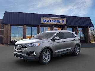 New 2021 Ford Edge Titanium Crossover For Sale Great Bend KS
