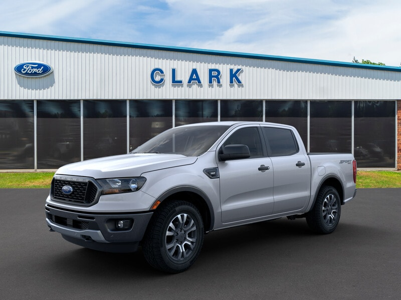 2019 Ford Ranger XLT 2WD Supercrew 5 Box Crew Cab Pickup