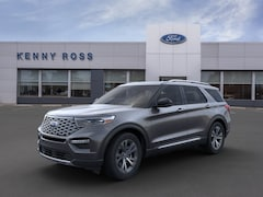 New 2020 Ford Explorer Platinum SUV in Auburn, MA
