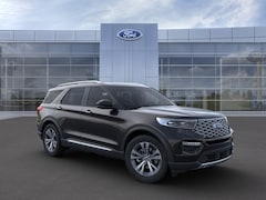 New 2020 Ford Explorer Platinum SUV 1FM5K8HC8LGD02866 in Rochester, New York, at West Herr Ford of Rochester