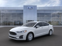 New 2020 Ford Fusion S Sedan 3FA6P0G71LR187557 for sale in Imlay City