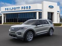 New 2020 Ford Explorer Platinum SUV for sale in Nederland
