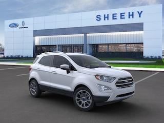 New 2020 Ford EcoSport Titanium SUV in Richmond, VA