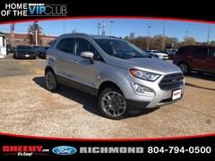 New 2020 Ford EcoSport Titanium SUV for sale near you in Richmond, VA