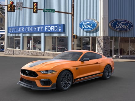Featured New 2021 Ford Mustang Mach 1 Coupe for Sale in Butler, PA