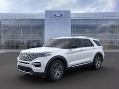 New 2020 Ford Explorer Platinum SUV 1FM5K8HC4LGC58543 for sale in Imlay City