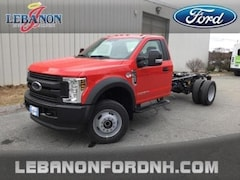 New 2019 Ford F-550 XL DRW Truck for sale in Lebanon, NH