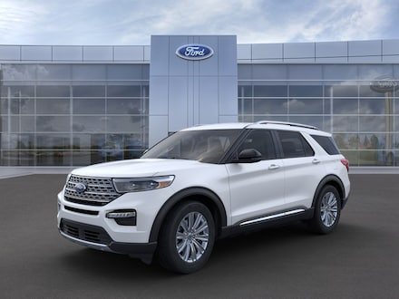 Featured new 2021 Ford Explorer Limited SUV for sale in Mexia, TX