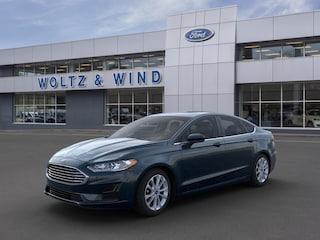 New 2020 Ford Fusion Hybrid SE Sedan 3FA6P0LU3LR185854 in Heidelberg, PA