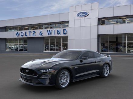 Featured New 2021 Ford Mustang GT Premium Coupe 1FA6P8CF3M5119373 for Sale in Heidelberg, PA
