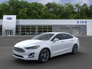 2020 Ford Fusion Titanium Sedan 3FA6P0D95LR178611