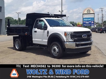 Featured New 2021 Ford F-450 Chassis Truck Regular Cab 1FDTF4HN4MEC04582 for Sale in Heidelberg, PA