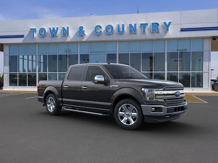 Featured new 2020 Ford F-150 LARIAT Truck SuperCrew Cab for sale in Evansville, IN
