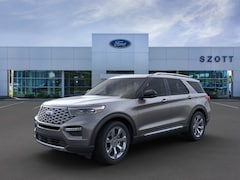 New 2021 Ford Explorer Platinum SUV for sale in Holly, MI