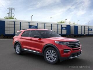 New 2021 Ford Explorer XLT SUV in Christiansburg, VA