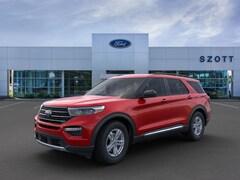 New 2020 Ford Explorer XLT SUV 1FMSK8DH0LGC58379 in Holly, MI