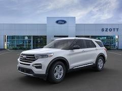 New 2020 Ford Explorer XLT SUV 1FMSK7DHXLGA69376 in Holly, MI