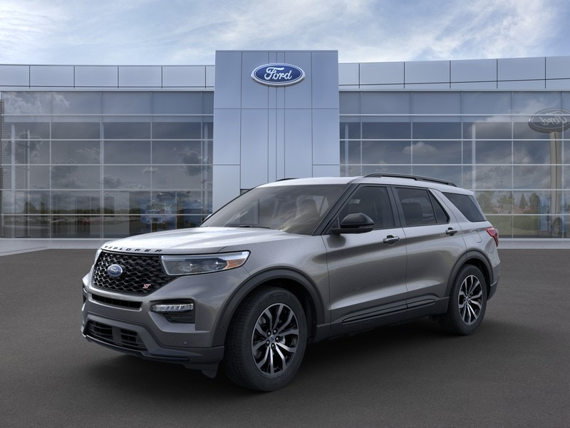 New 2021 Ford Explorer ST SUV in Merrillville, IN