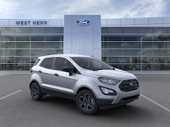 New 2020 Ford EcoSport S Crossover MAJ6S3FL7LC383242 in Rochester, New York, at West Herr Ford of Rochester