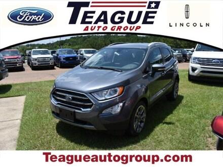 Featured new 2018 Ford EcoSport Titanium SUV for sale in El Dorado, AR