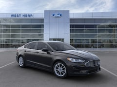 New 2020 Ford Fusion SE Sedan 3FA6P0LU8LR145009 in Rochester, New York, at West Herr Ford of Rochester