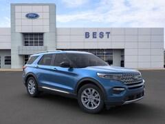 New 2020 Ford Explorer Limited SUV Nashua, NH
