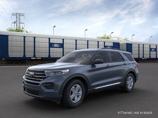 New 2021 Ford Explorer XLT SUV 1FMSK7DH4MGA52459 For sale near Fontana, CA