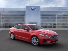 New 2020 Ford Fusion SE Sedan 3FA6P0LU6LR106130 in Rochester, New York, at West Herr Ford of Rochester
