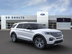 New 2020 Ford Explorer Platinum SUV in Jamestown, NY