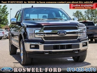 New 2019 Ford F-150 King Ranch Truck For Sale in Roswell, NM