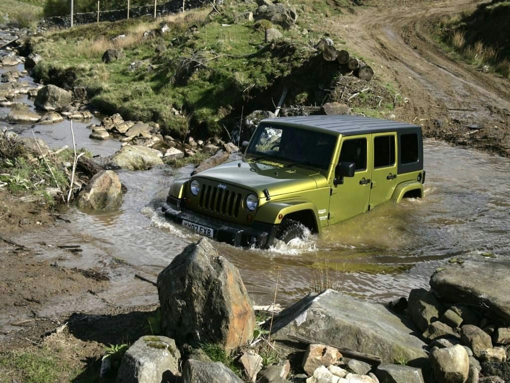 The Jeep Wrangler River