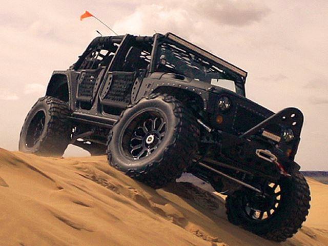 Sand dune driving,