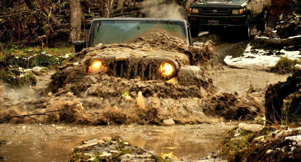 The Jeep Wrangler Mud