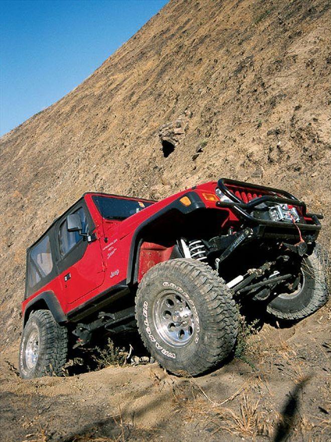 The Jeep Wrangler Mountains