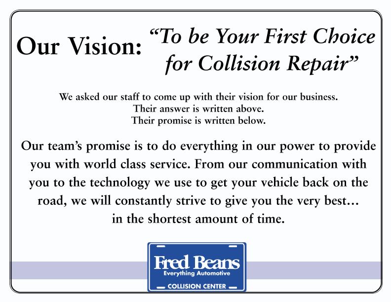 Fred Beans Doylestown Pa >> Auto Body Shop Doylestown PA   Fred Beans Subaru