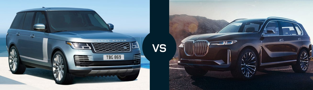 2019 Range Rover Vs Bmw X7 Compare Reviews Safety Ratings Fuel